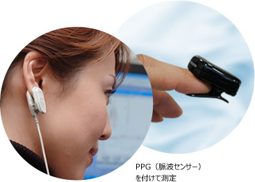 HRV(心拍変動)の測定